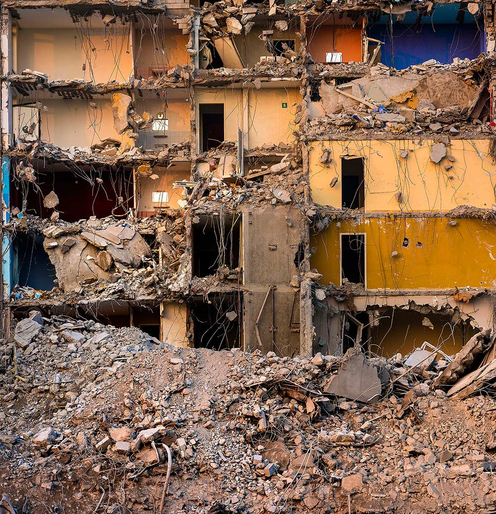 Arthur Los Fotografie - Demolition