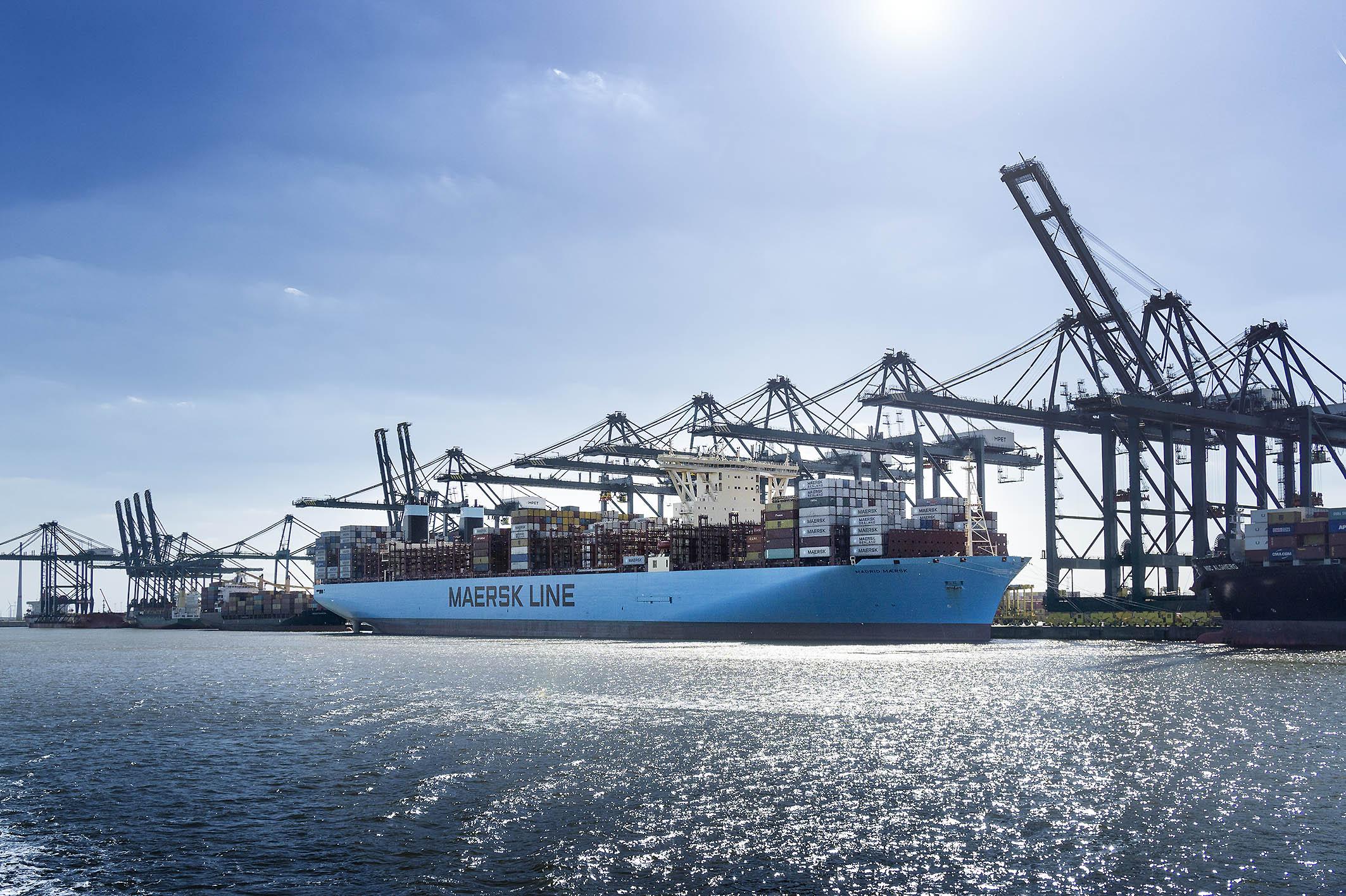 Arthur Los Fotografie - Madrid Maersk