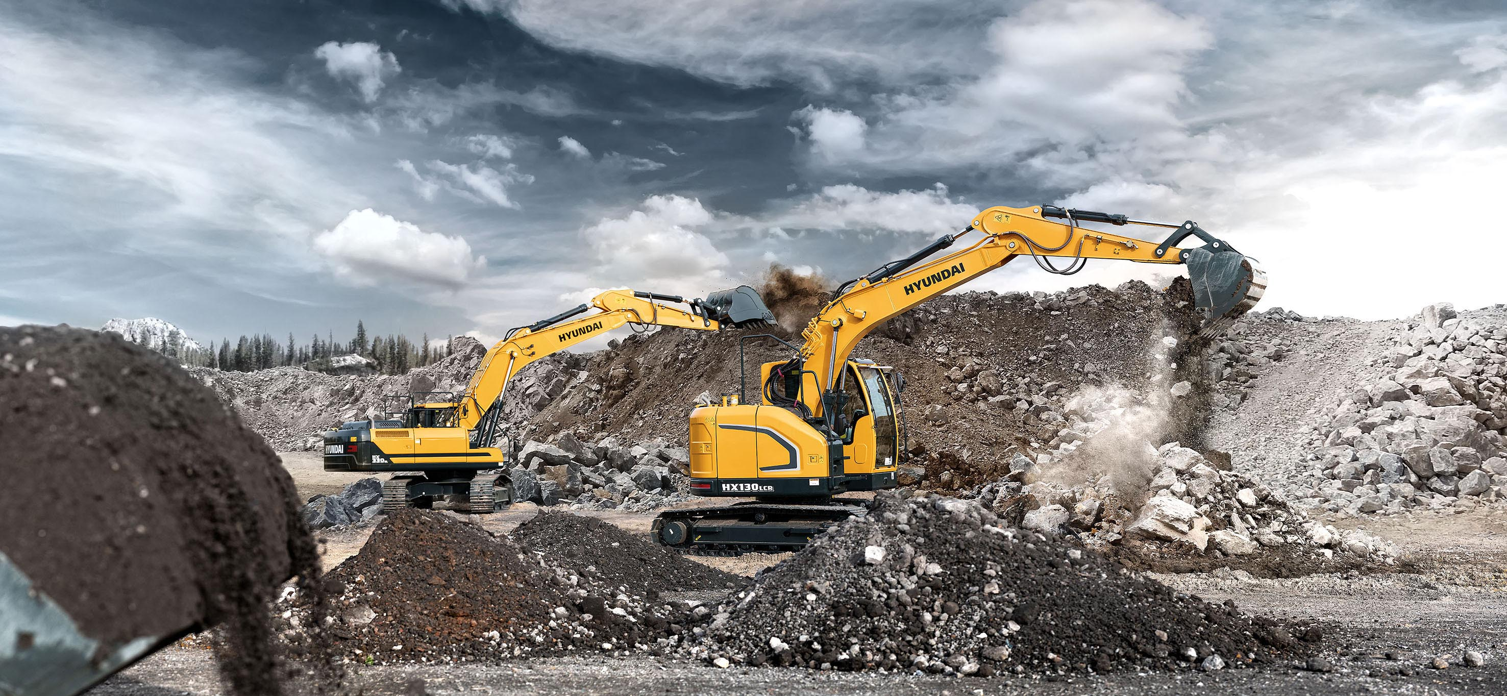 Arthur Los Fotografie - Hyundai Construction Equipment Europe