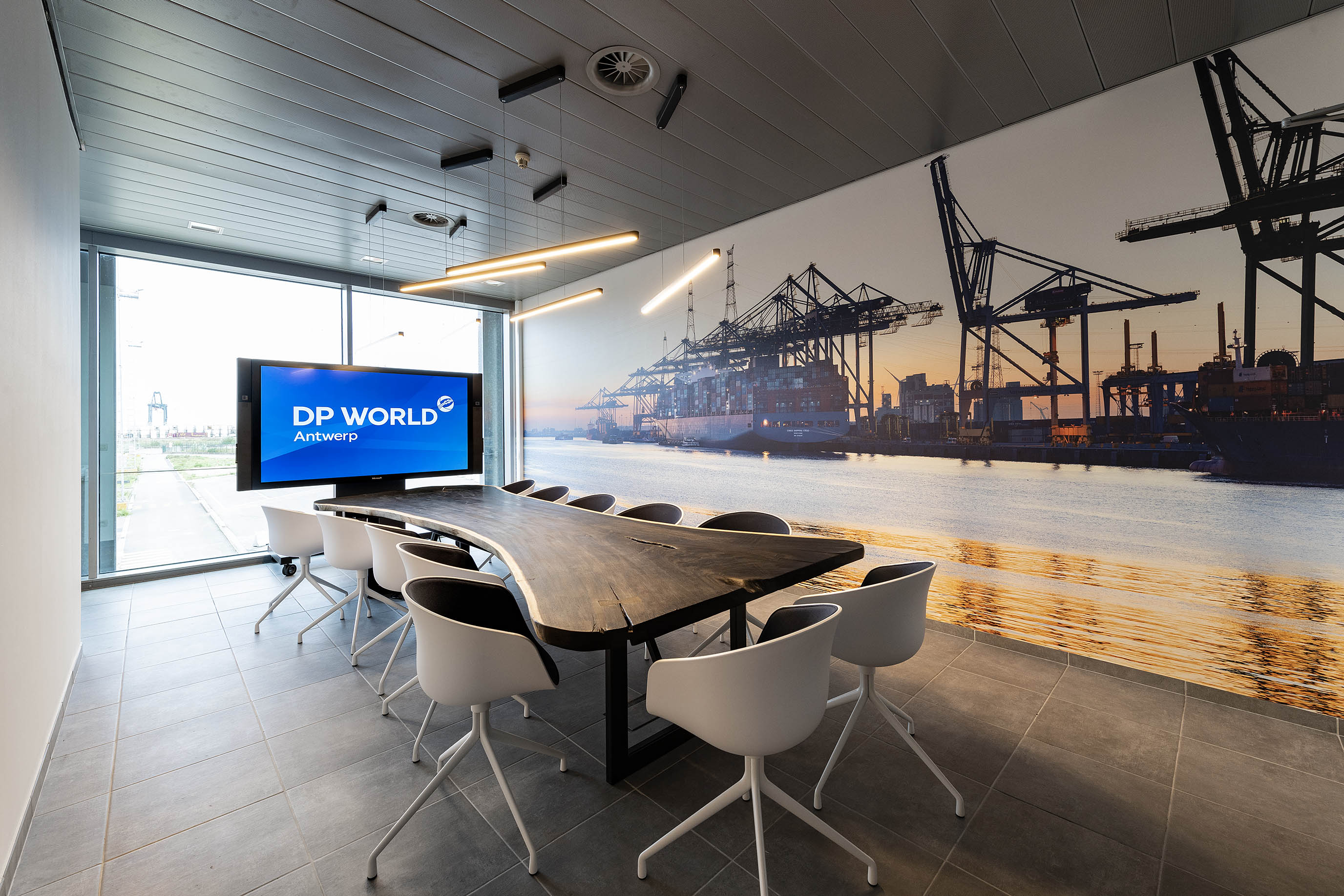 Arthur Los Fotografie - DP World Antwerp