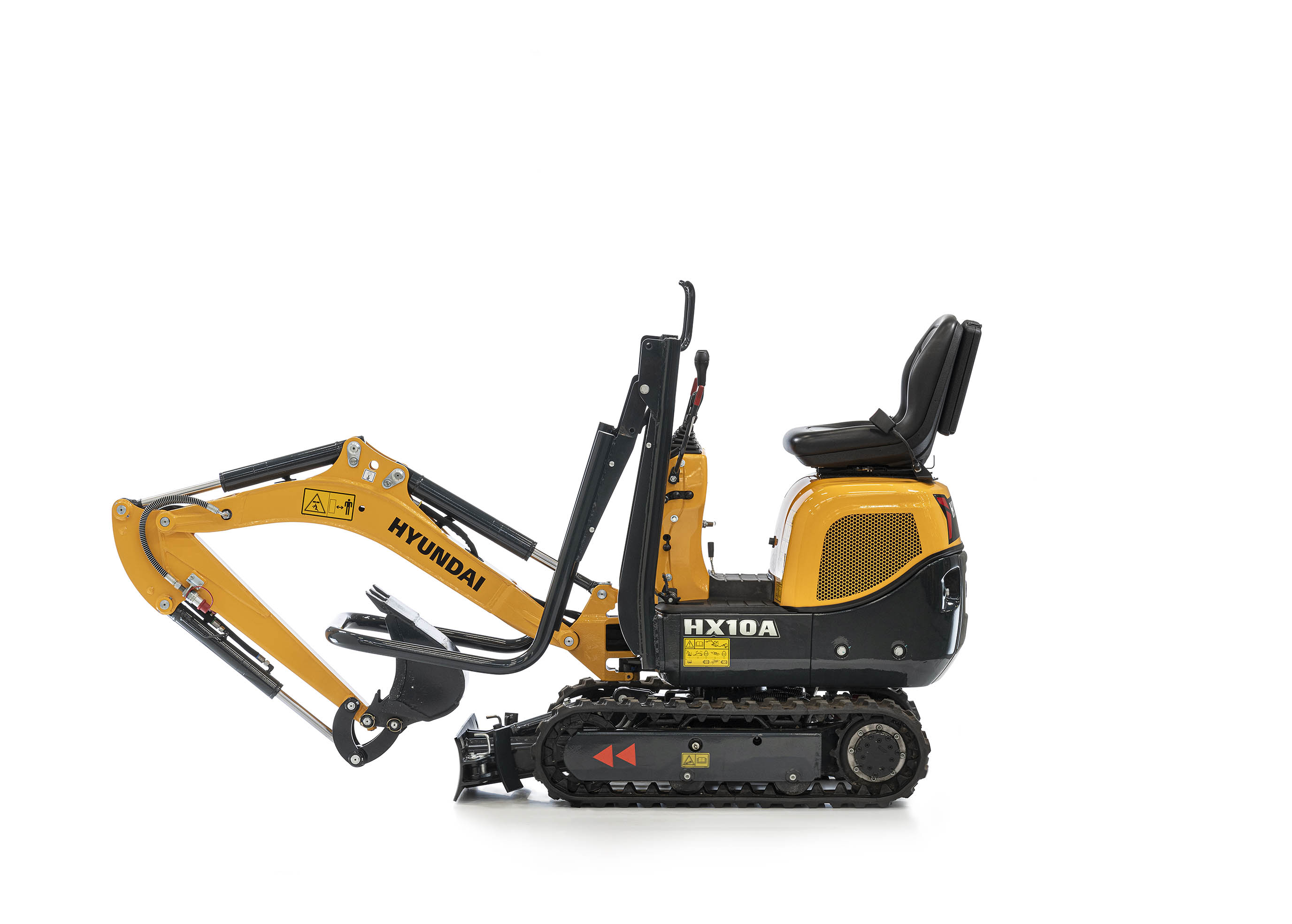 Arthur Los Fotografie - HX10A compact excavator