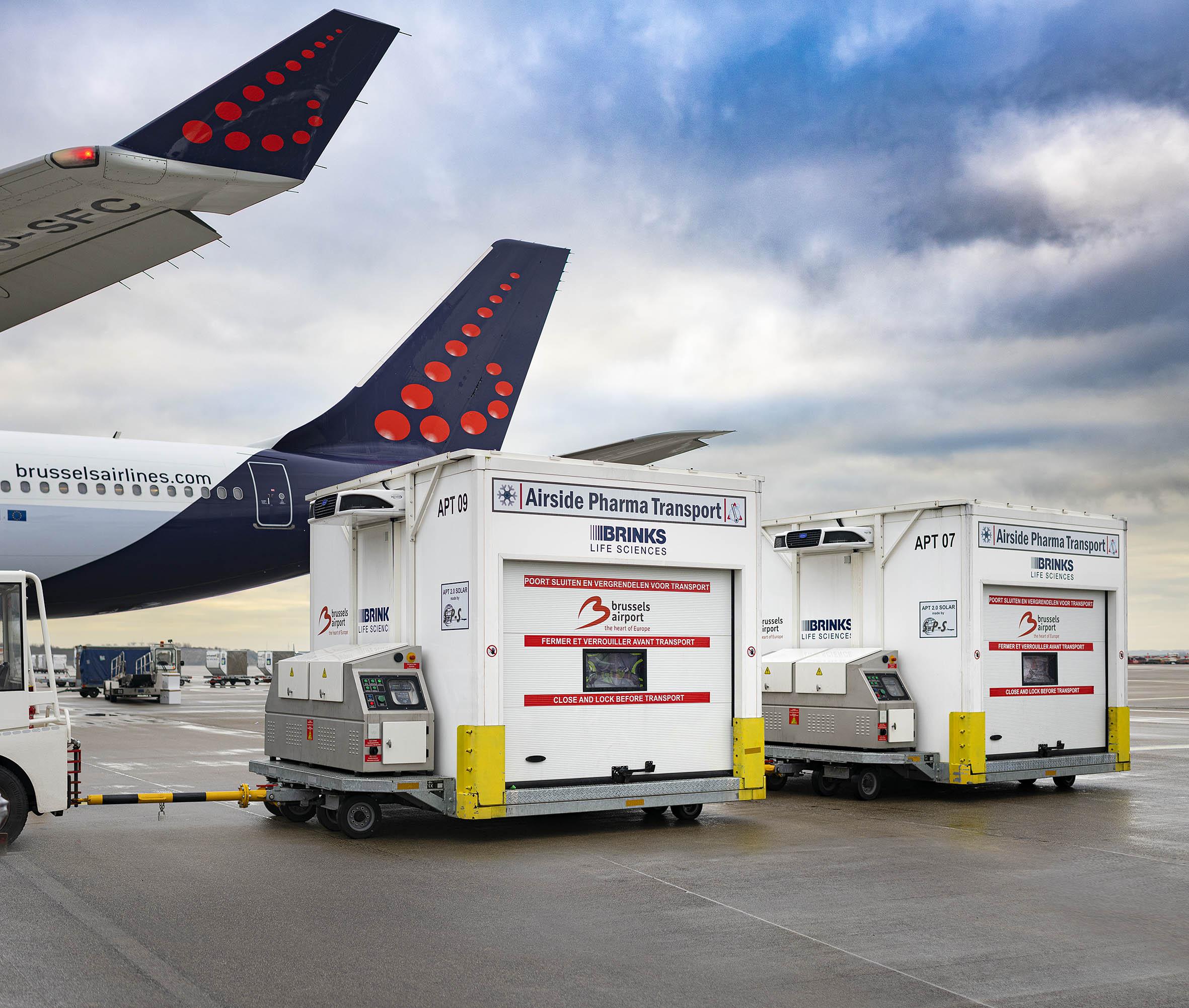 Arthur Los Fotografie - Airside Pharma Transport